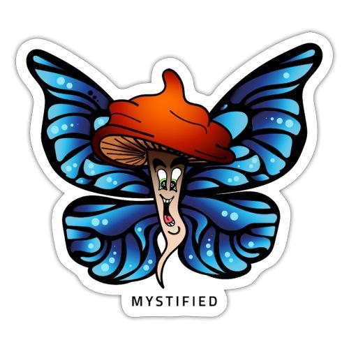 Mystified Butterfly - Sticker