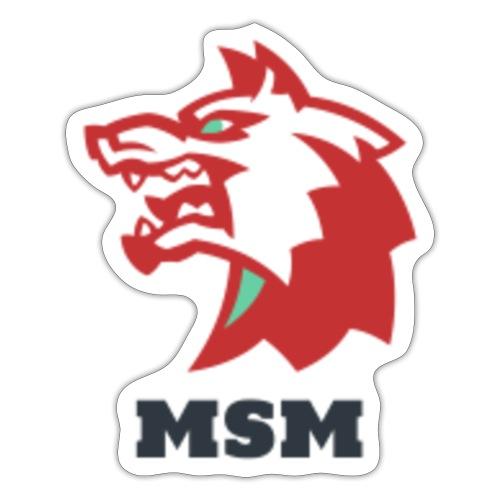 MSM WOLF - Sticker
