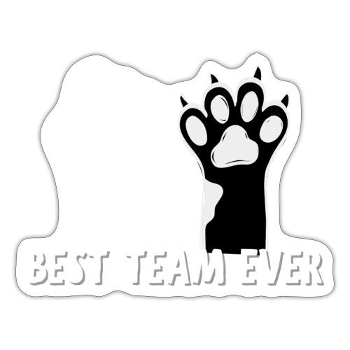 The Best Team Ever My And My Cat- Recxoo.com - Sticker