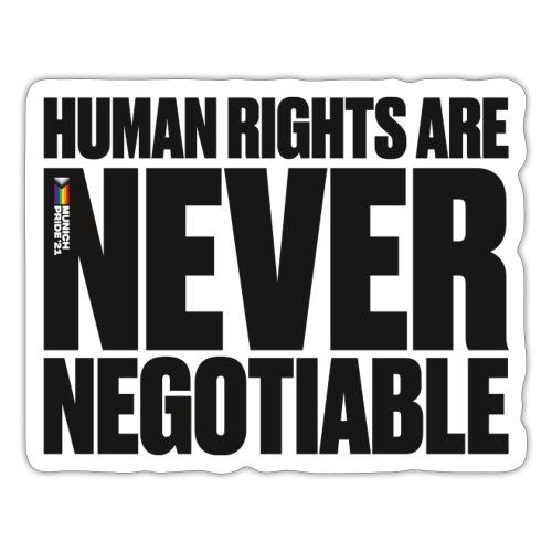 Human Rights - CSD München - Sticker