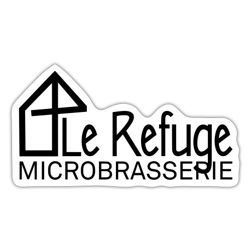 LOGO LE REFUGE microbrasserie - Autocollant