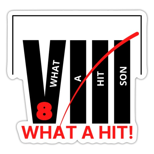 Stevie What a Hit VIII Range from the Trippers - Sticker