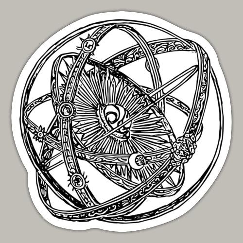 Astrolab - Autocollant