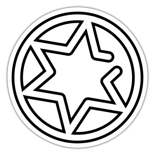 Gnisten Ry (sort tryk - uden tekst) - Sticker