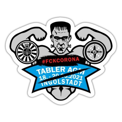 AGM 2021 Logo FCKCORONA 210406 - Sticker