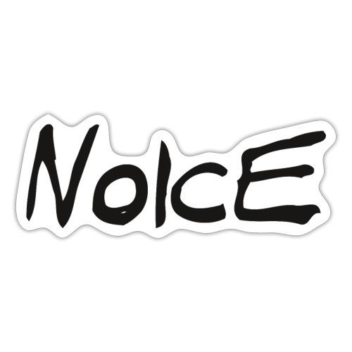 Noice - Black logo - Sticker