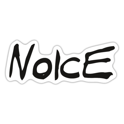 Noice - Black logo - Klistermärke