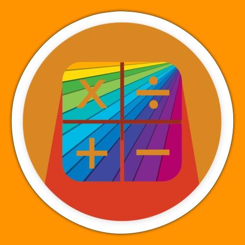 Matemáticas Sin Más Rainbow - Pegatina