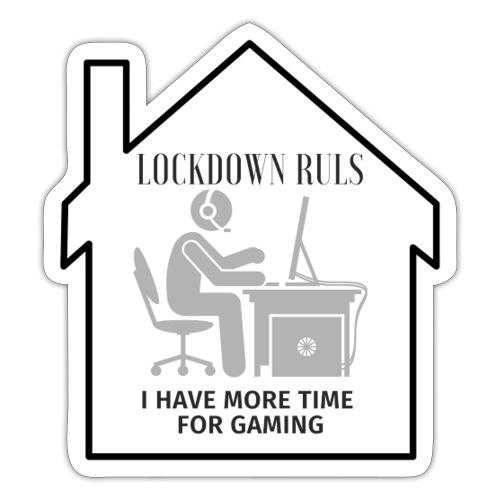 Lockdown Ruls - Sticker