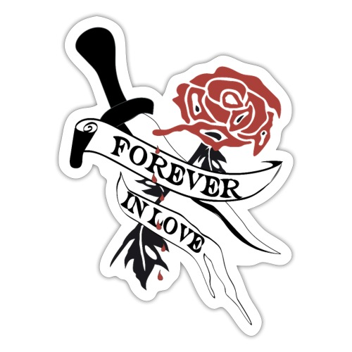 Forever in Love - Sticker