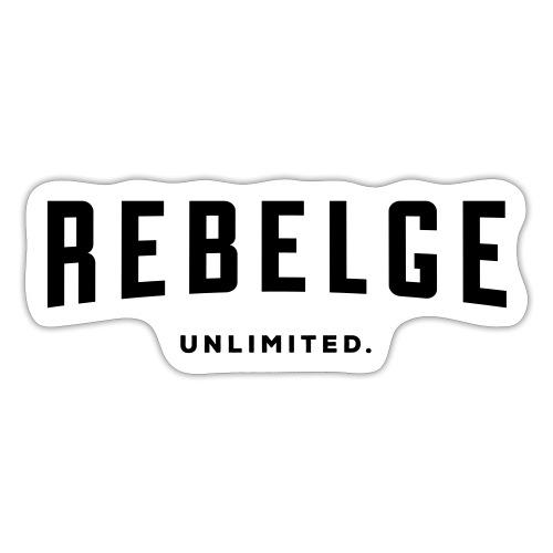 Rebelge België Belgique - Autocollant