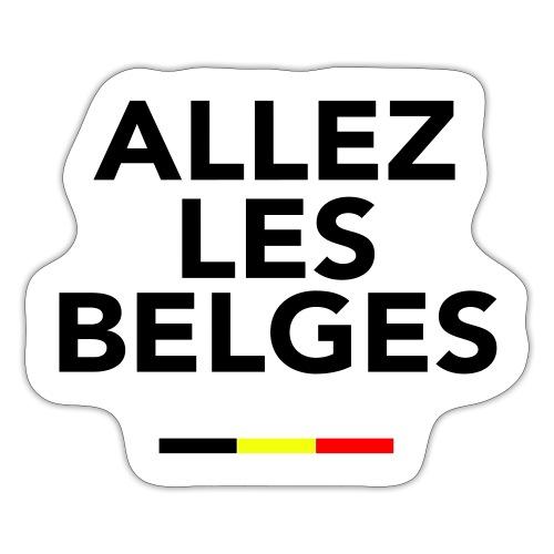 allez les Belges! - Autocollant
