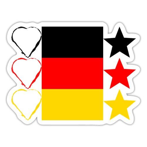 Liebe Deine Stars - Sticker