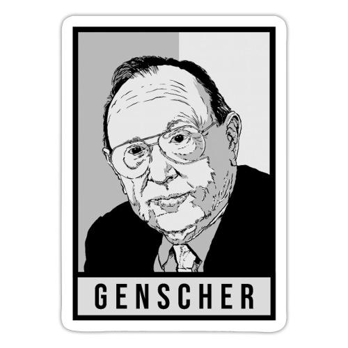 Hans-Dietrich Genscher (FDP) - Sticker
