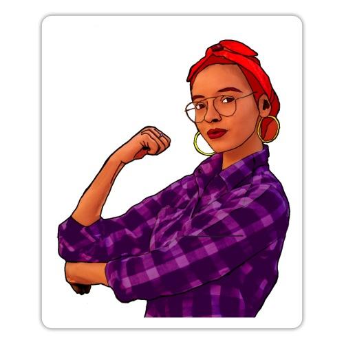 Mujer Empoderada - Pegatina