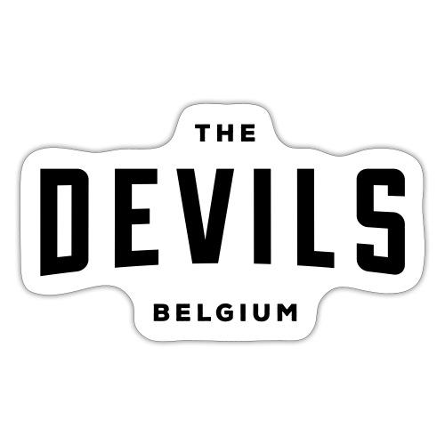 les diables belgique Belgique - Autocollant