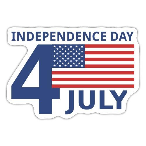 4th of July. 4 luglio - Adesivo