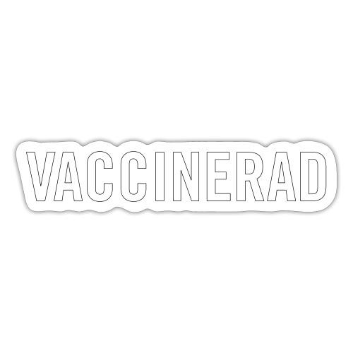 Vaccinerad - Klistermärke