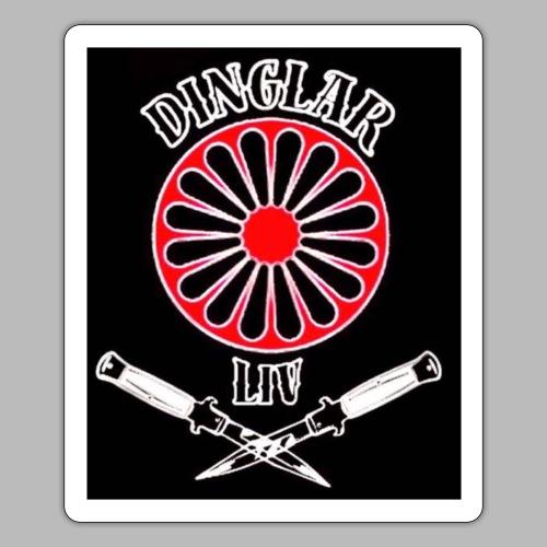 DinglarlivHorta - Klistermärke