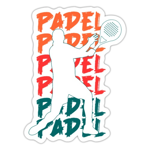 Padel Padel Padeltennis - Klistermärke