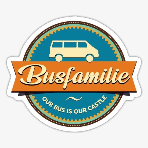 Busfamilie - Sticker