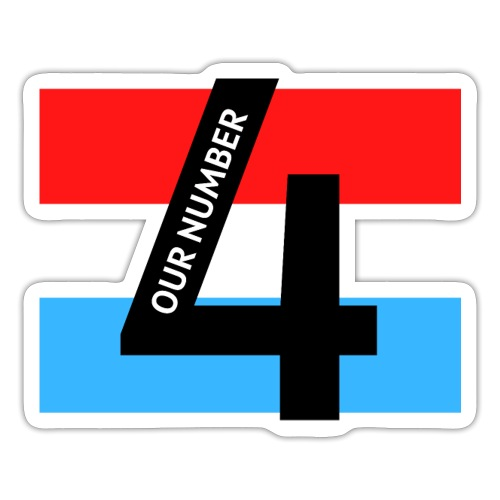 Our Number 4 Collection from The Trippers - Sticker