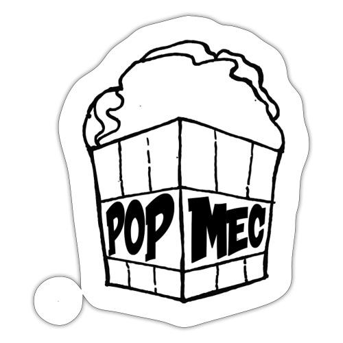 PopMeC logo - Sticker