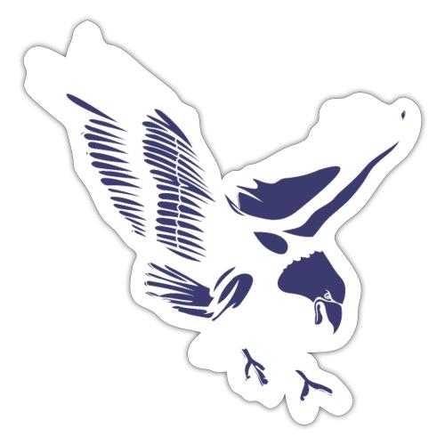Aquila blu ed accessori - Adesivo