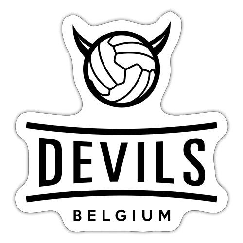 Belgique diables Diables football - Autocollant