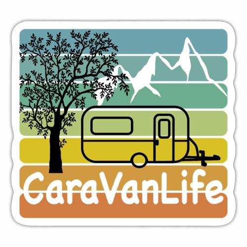 caravan life - Sticker