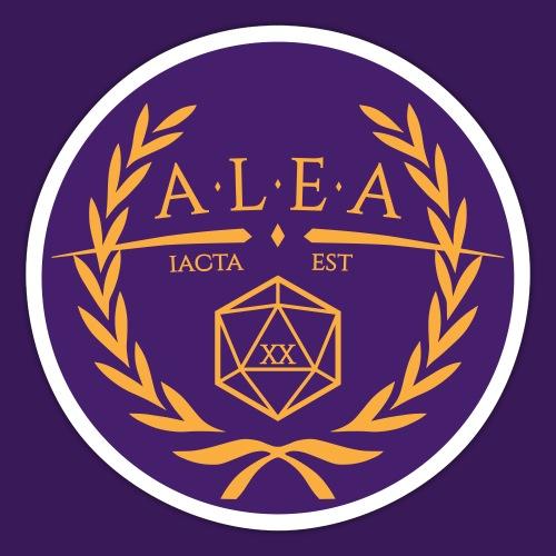 ALEA Logo, rund - Sticker
