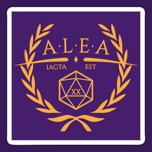 ALEA Logo, quadratisch - Sticker