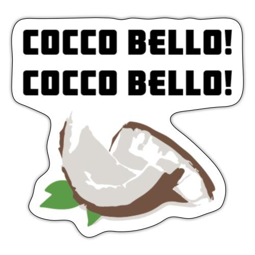 COCCO BELLO - Adesivo