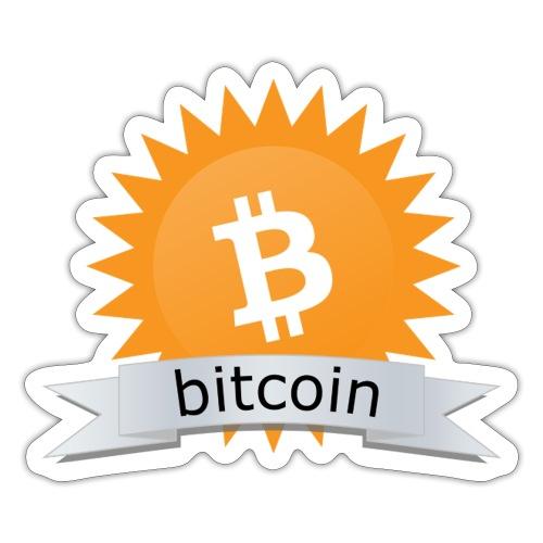 Bitcoin logo - Sticker