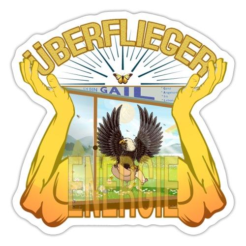Überflieger Energie - GAIL - Adler oder Huhn? LUYL - Sticker