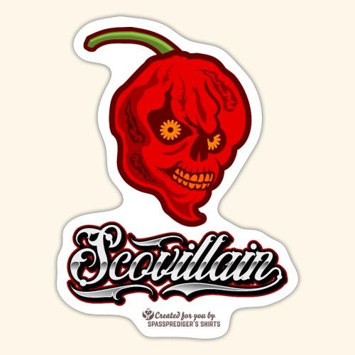 Chili Chilischote Chilihead Scovillain - Sticker