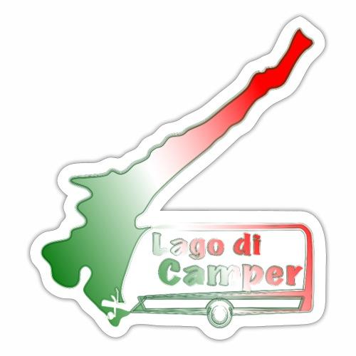 Lago di Camper / Lago die Garda - Sticker