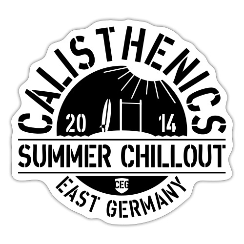 Old School Summer Chillout 2014 - Sticker