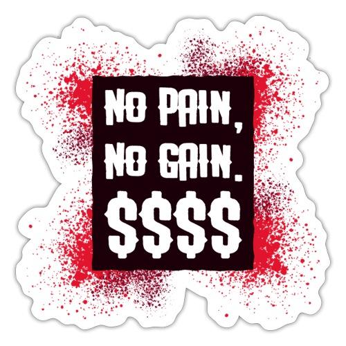 No pain - Autocollant