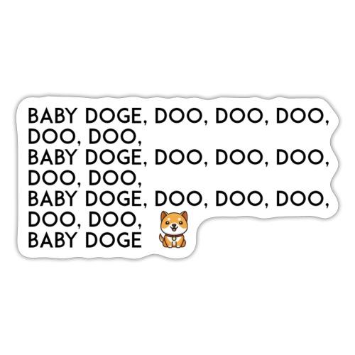 Baby doge coin - Sticker