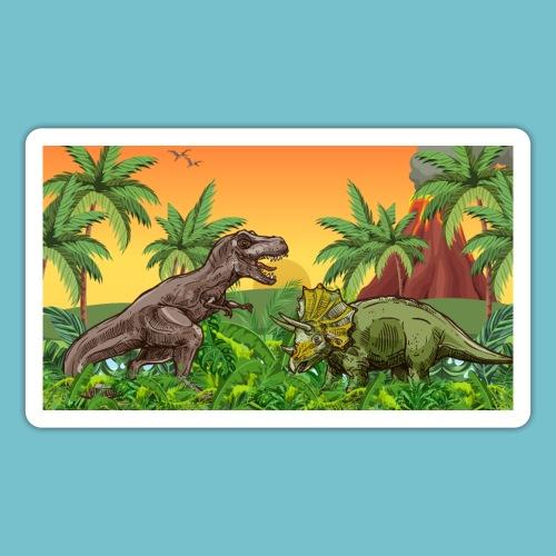 Cretaceous Showdown - Sticker