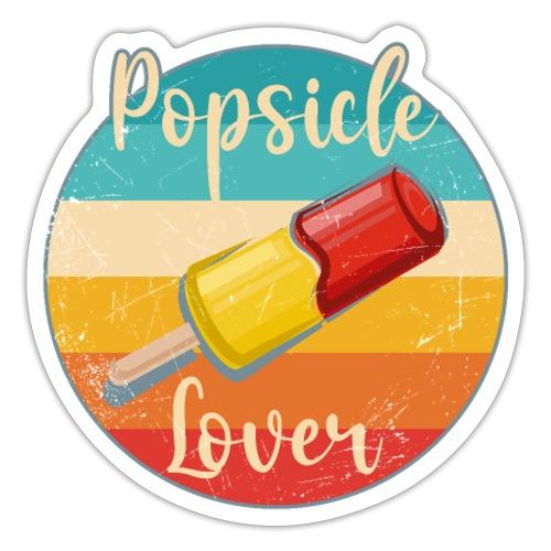 Lustige Eis am Stiel Geschenkideen Popsicle Lover - Sticker