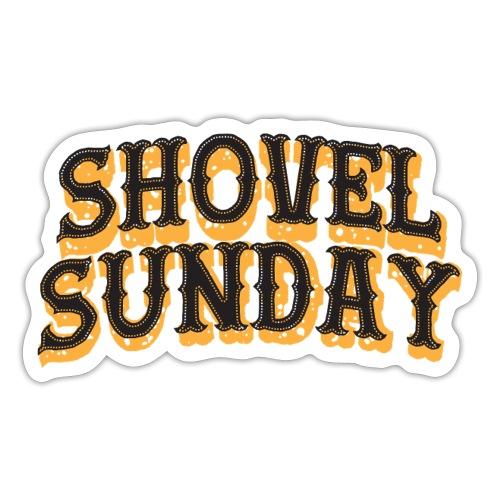 Shovel Sunday logo - Tarra