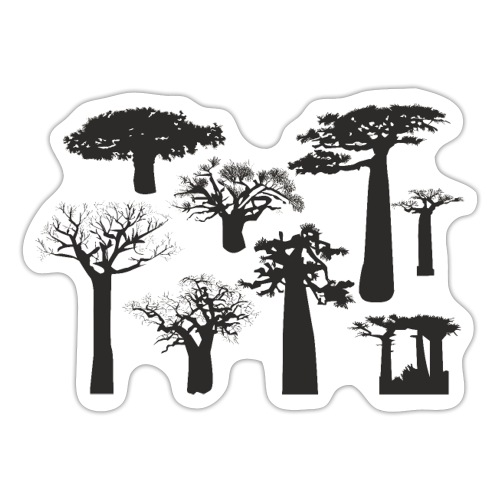 vippng com tree of life silhouette 3082982 - Sticker