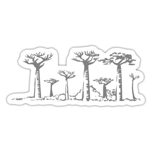 baobabs grises - Sticker