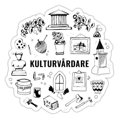 Kulturvårdare - Klistermärke