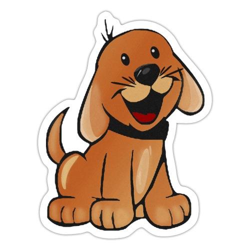 cartoon dog - Adesivo