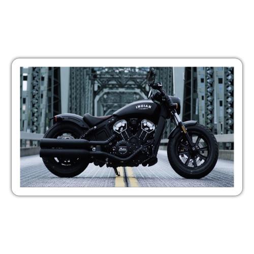 Passione per le moto - Adesivo