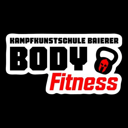 Body Fitness Kollektion 2021 - Sticker