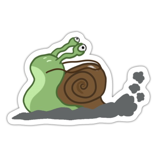 Ze Snail Cavalry - Sticker